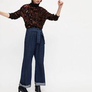 Zara TRF Wide Leg Jeans 👖
